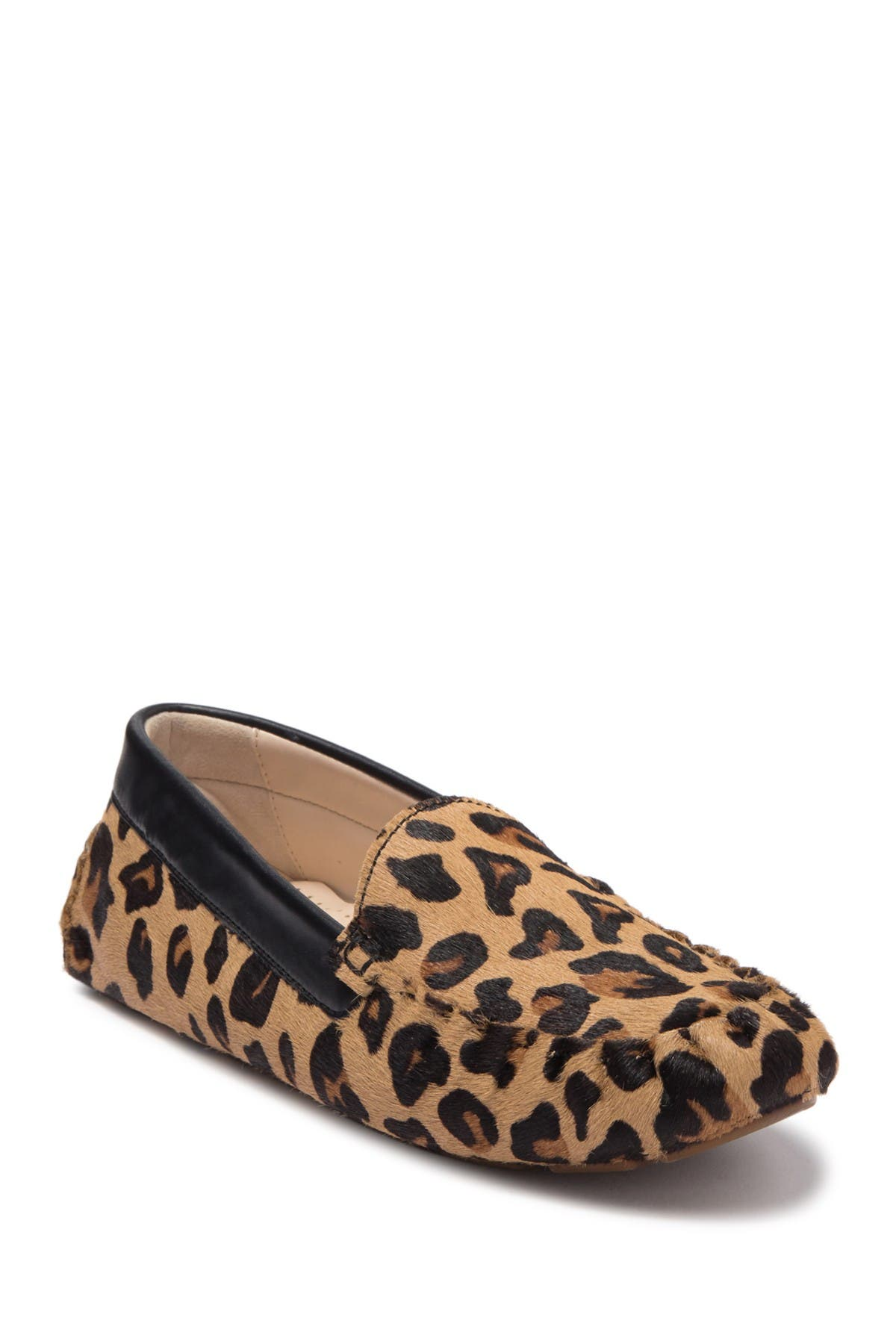 Image of Cole Haan Evelyn Genuine Calf Hair Driving Loafer