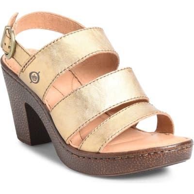 B?rn Warner Sandal, Metallic