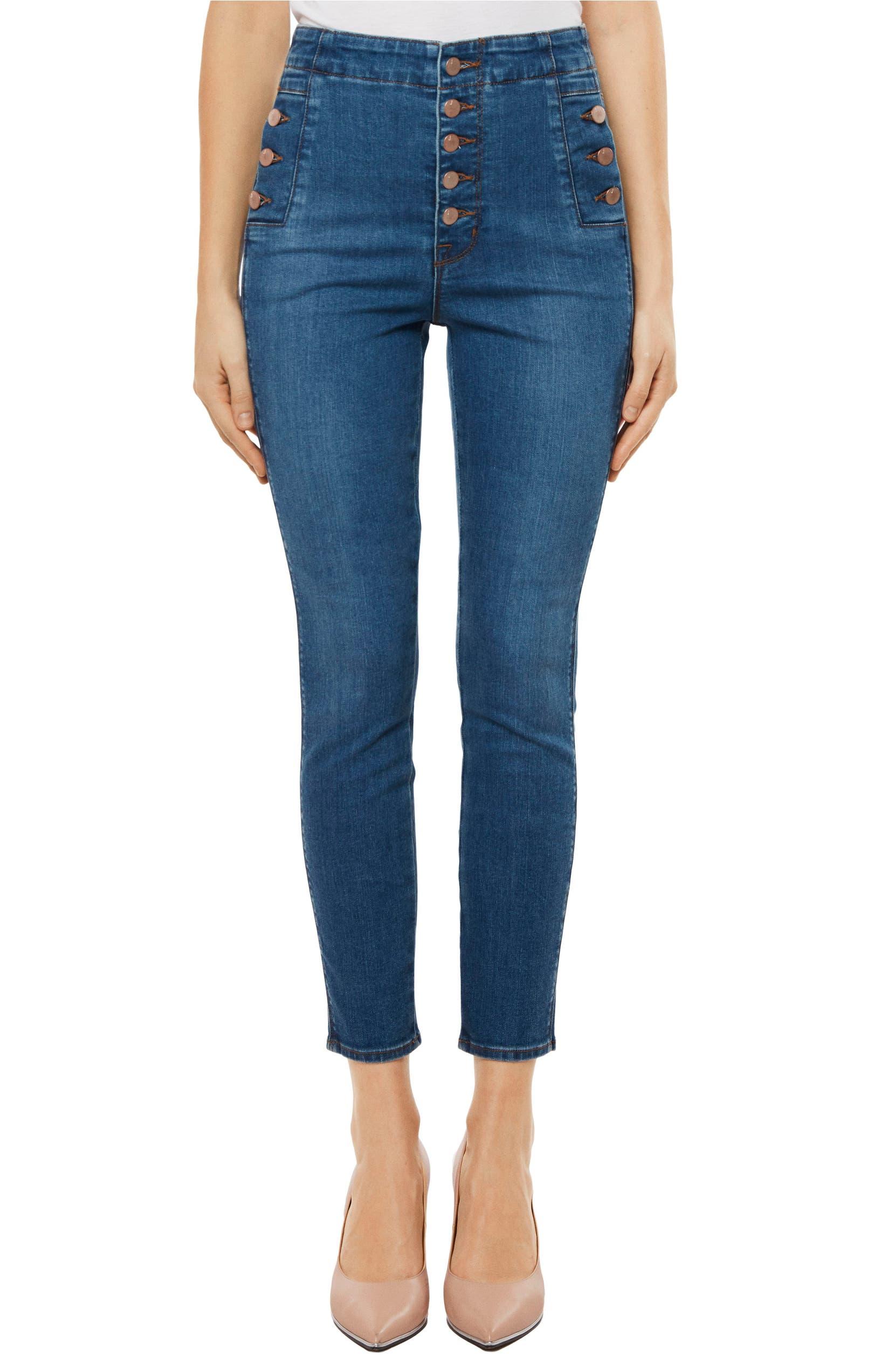 200db0840591 J Brand Natasha Sky High High Waist Crop Skinny Jeans (Lovesick) | Nordstrom