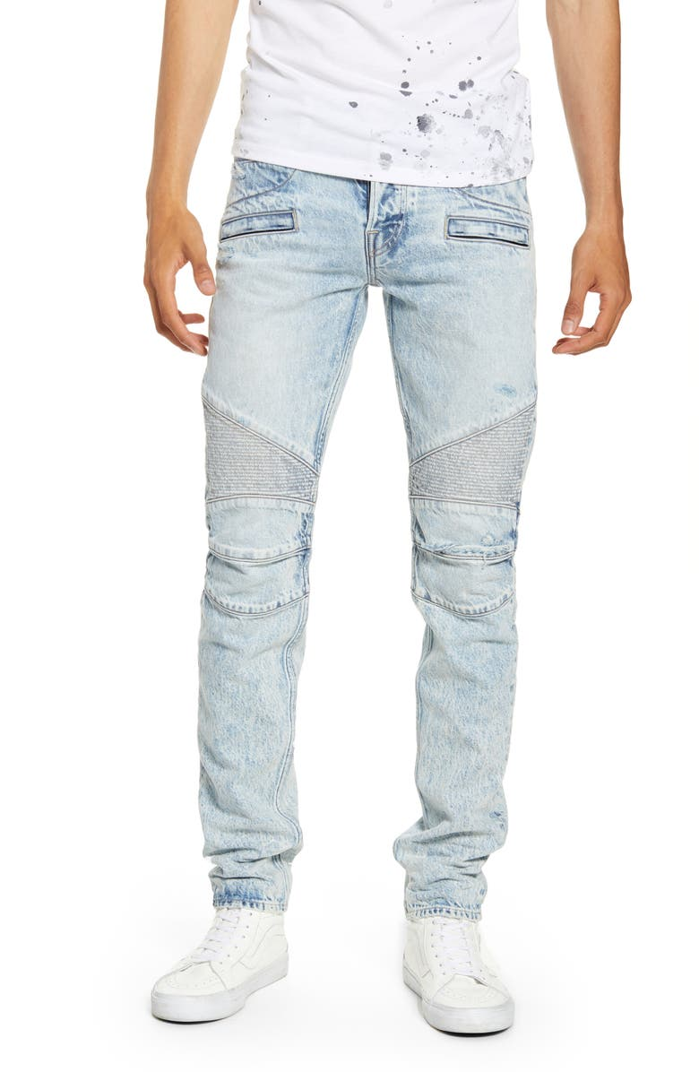 HUDSON JEANS Blinder Biker Skinny Fit Jeans, Main, color, MOTION