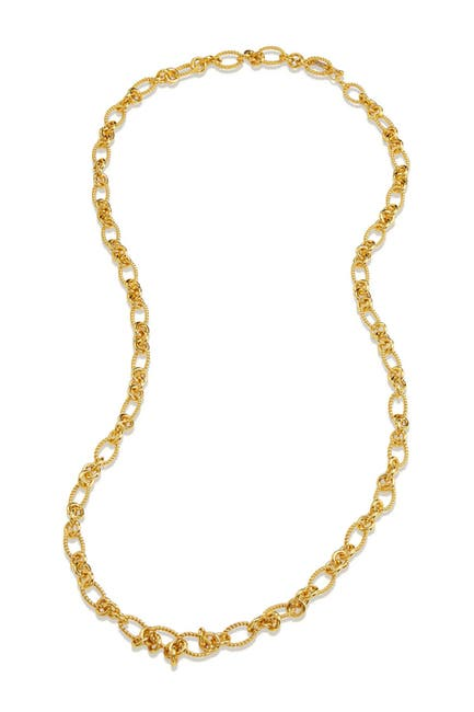Image of Savvy Cie Italian Link Chain Necklace