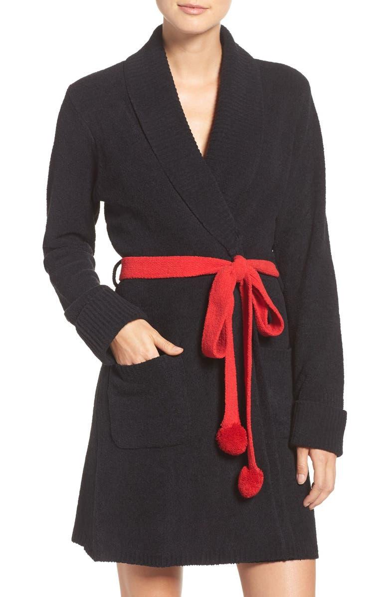 BETSEY JOHNSON Sweater Robe, Main, color, 001