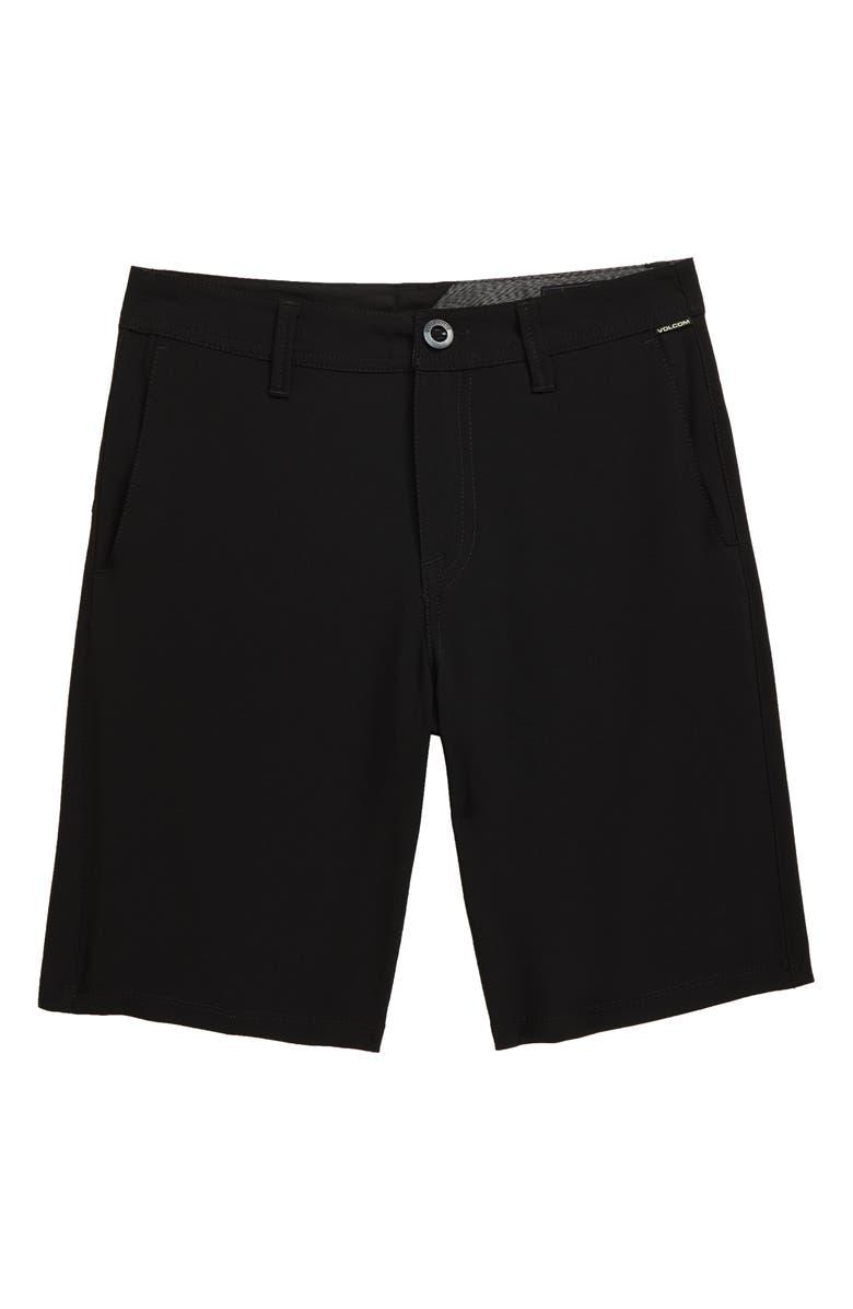 VOLCOM Frickin Surf N' Turf Static Hybrid Shorts, Main, color, 007