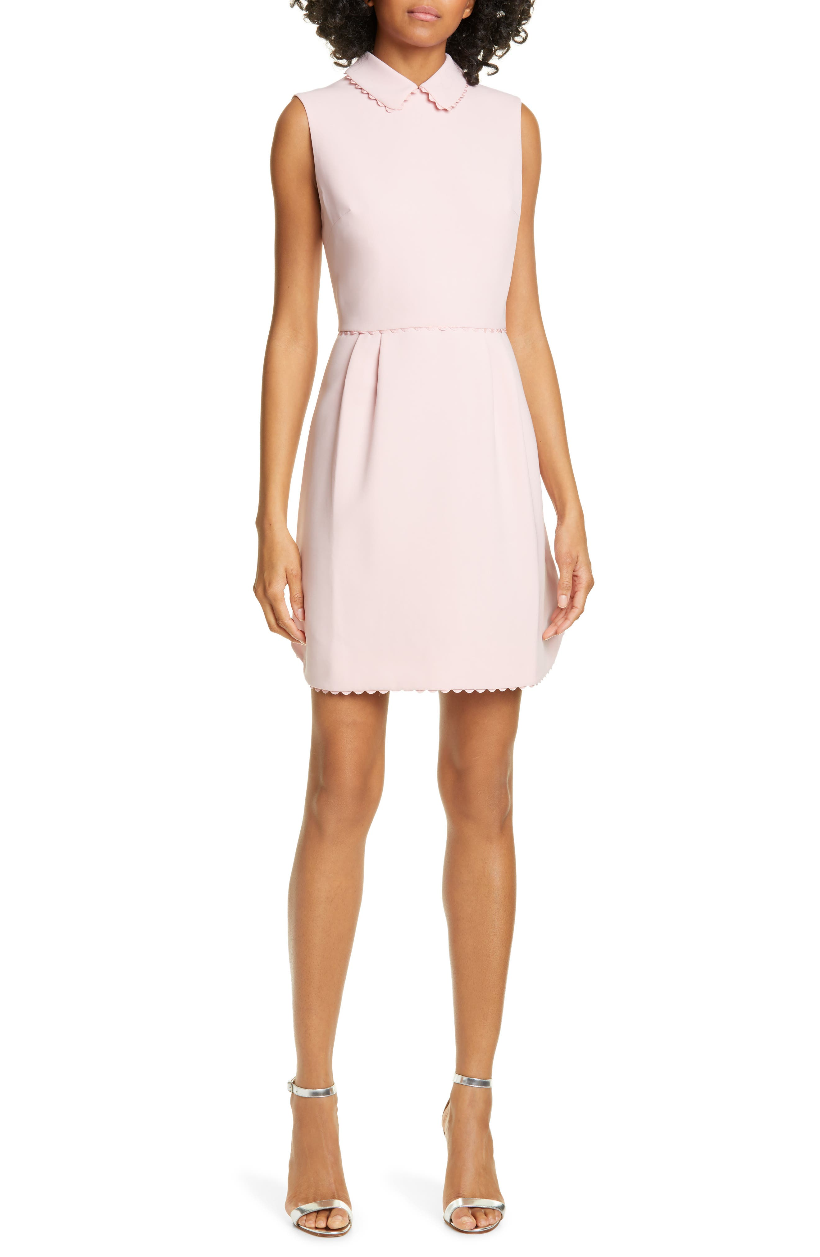 Ted Baker London Ezzy Scalloped Detail Dress