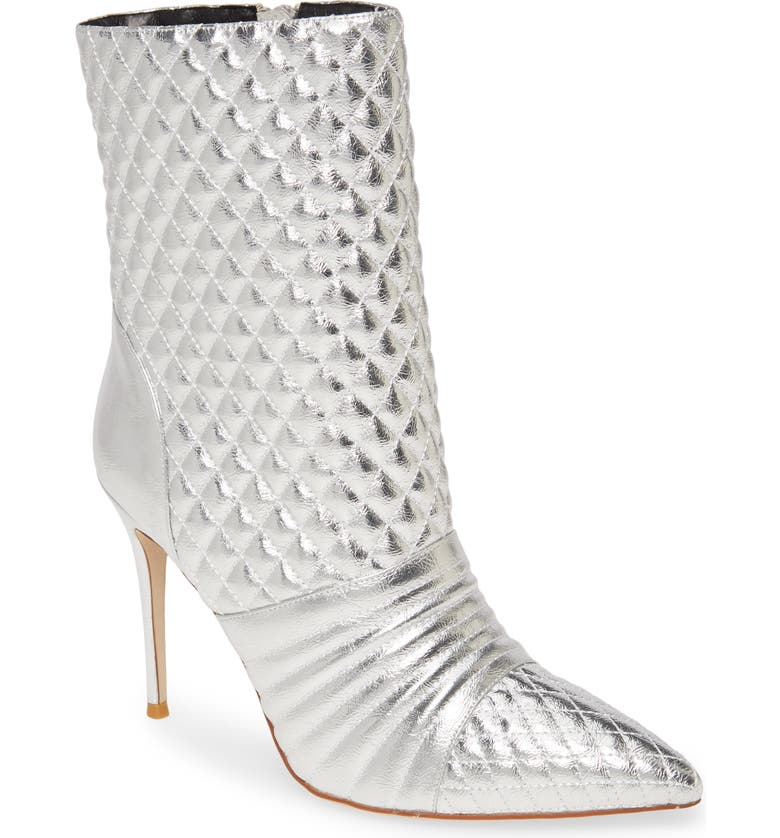 JEFFREY CAMPBELL Viruses Bootie, Main, color, SILVER