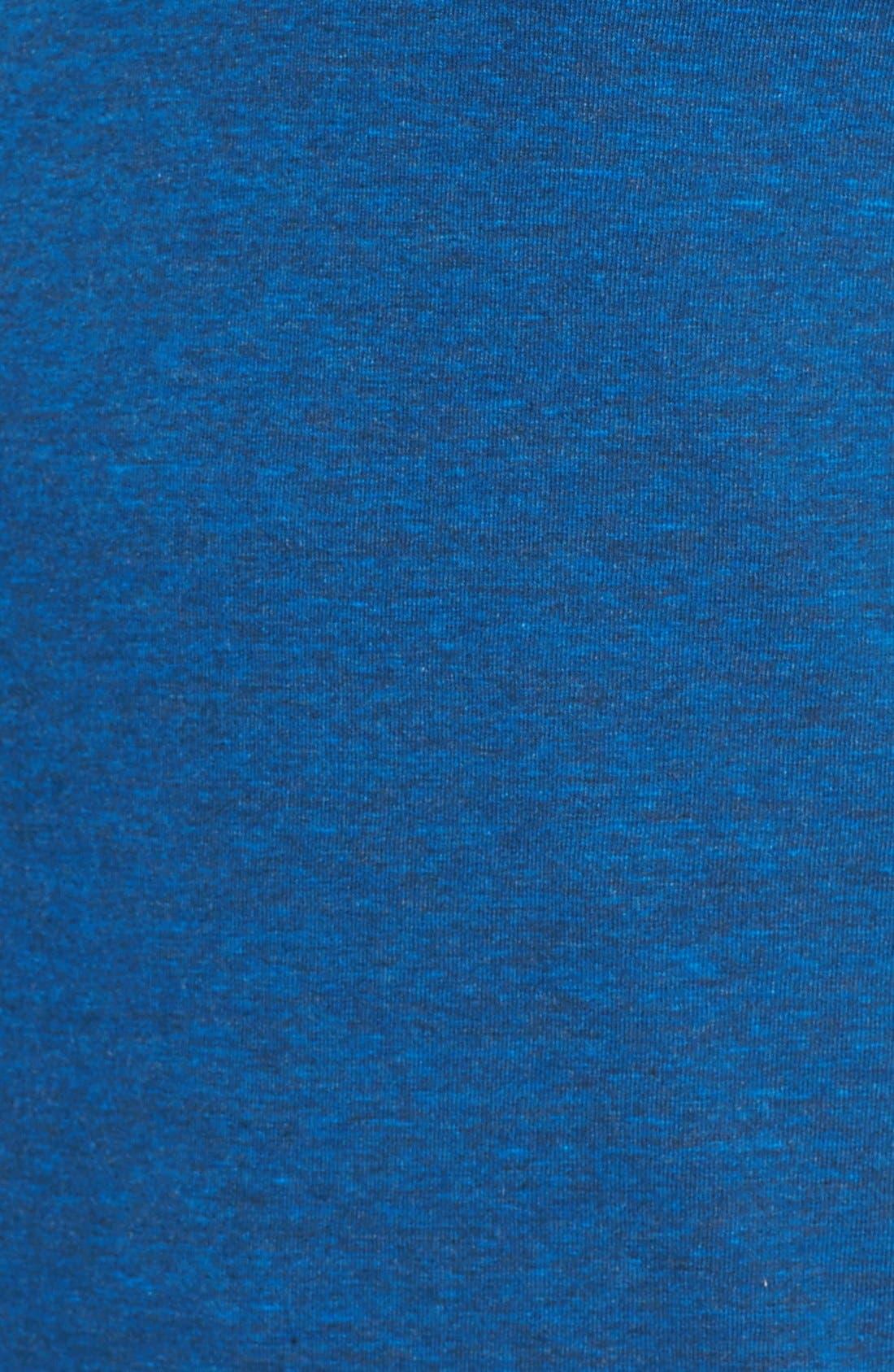 ,                             Triblend Scallop Long Sleeve Crewneck T-Shirt,                             Alternate thumbnail 33, color,                             420