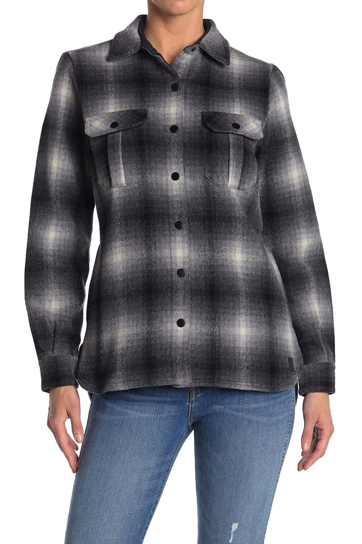 Image of SmartWool Anchor Line Plaid Shirt Jacket