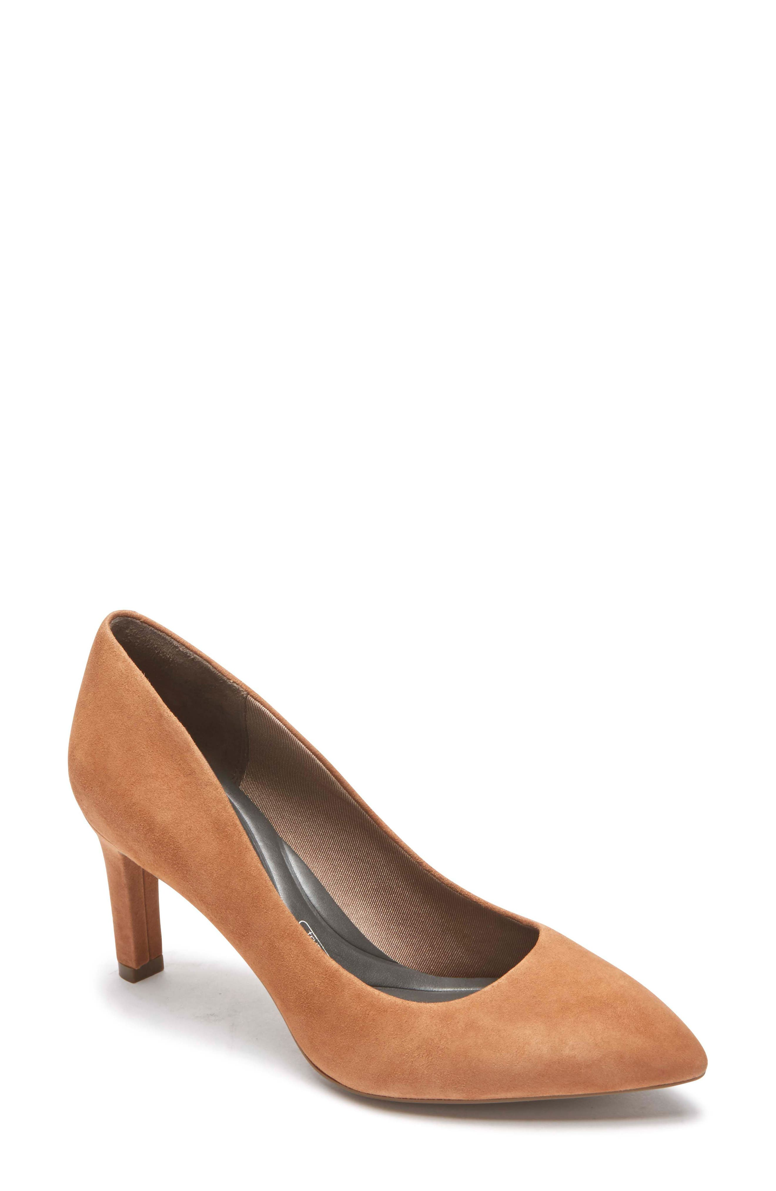 Rockport Total Motion Luxe Valerie Pump, Brown