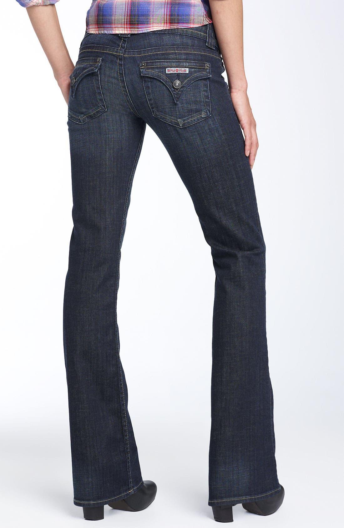 ,                             Signature Flap Pocket Bootcut Jeans,                             Alternate thumbnail 45, color,                             443