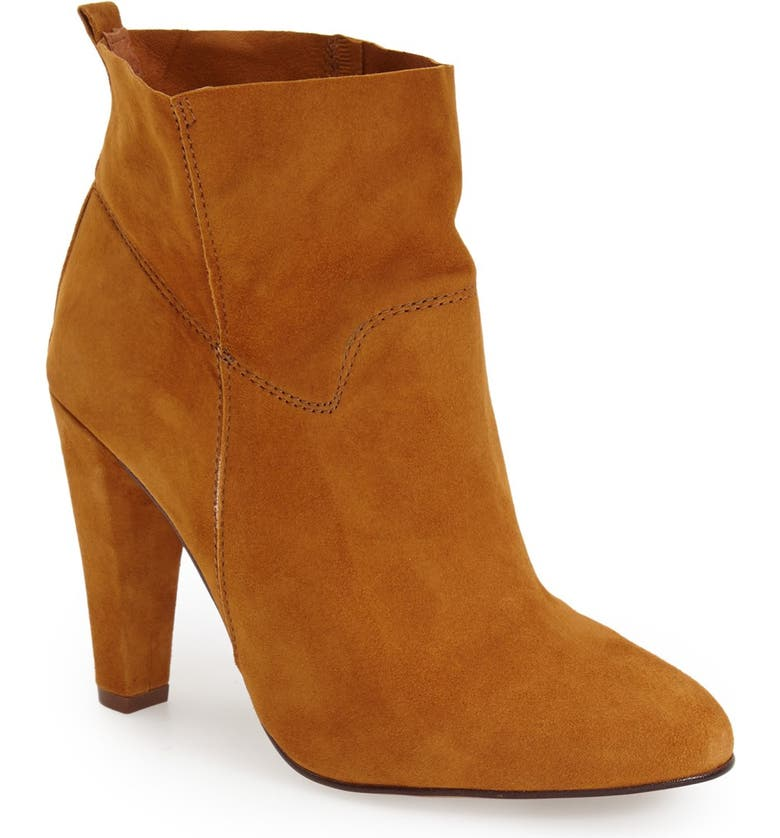 TOPSHOP 'Hourglass' Ankle Bootie, Main, color, 210