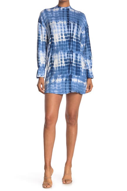 Image of Velvet Torch Tie Dye Print Mini Dress