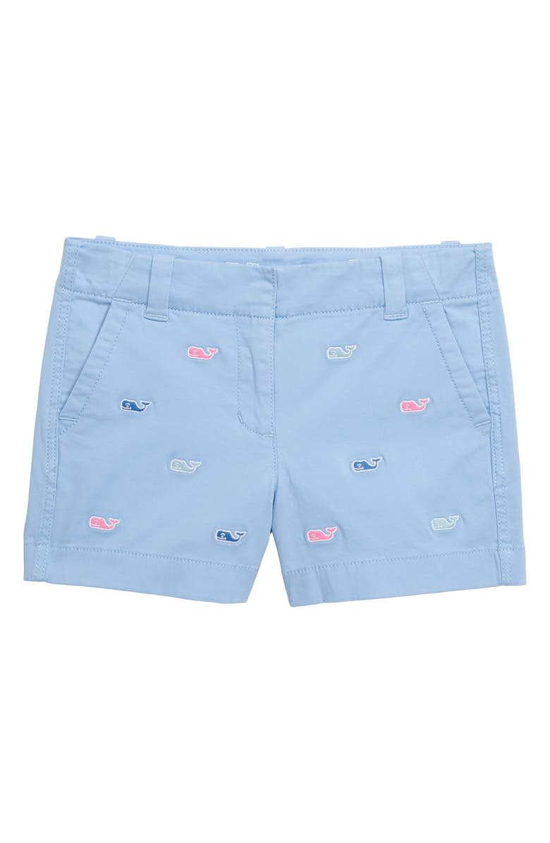 VINEYARD VINES Multi Whale Embroidered Everyday Shorts, Main, color, 456