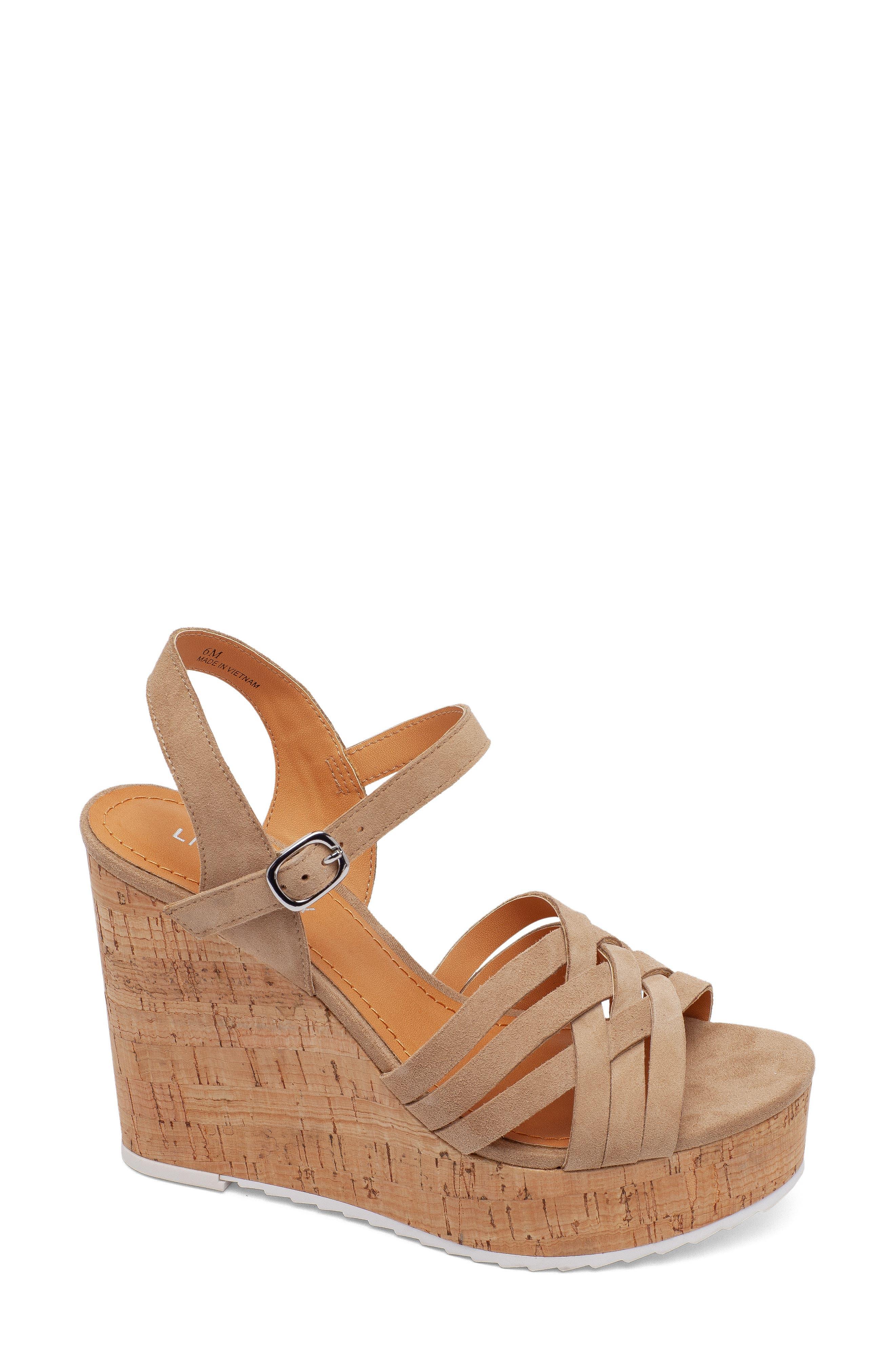 Glorious Platform Wedge Sandal