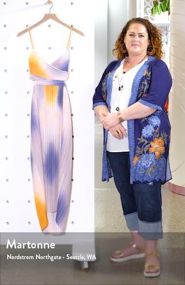 Sienna Ombré Midi Dress, sales video thumbnail