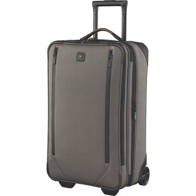 Victorinox Swiss Army Lexicon 2.0 Wheeled 24-Inch Suitcase - Grey