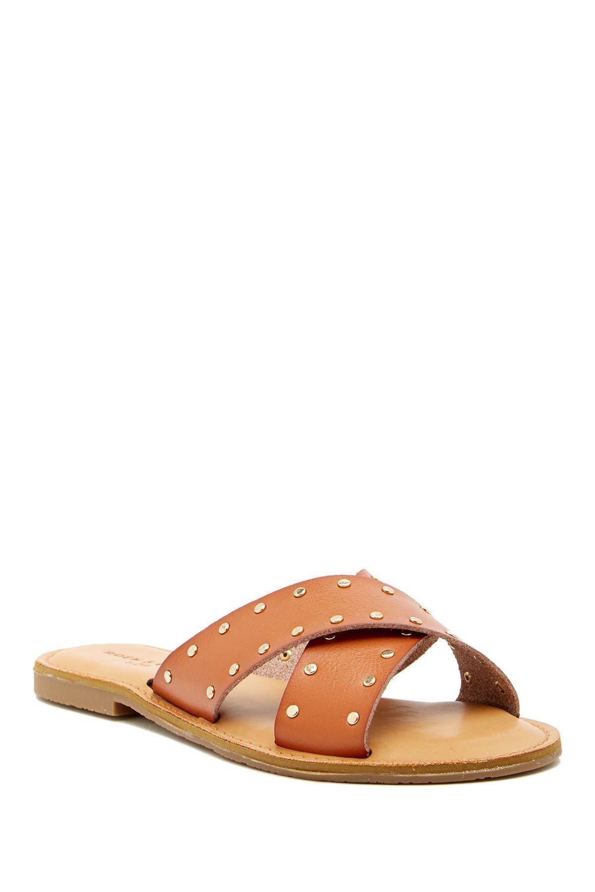 Image of Rock & Candy Bradi Cross Band Slide Sandal