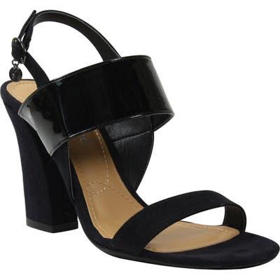 J. Renee Emberley Block Heel Sandal, Black