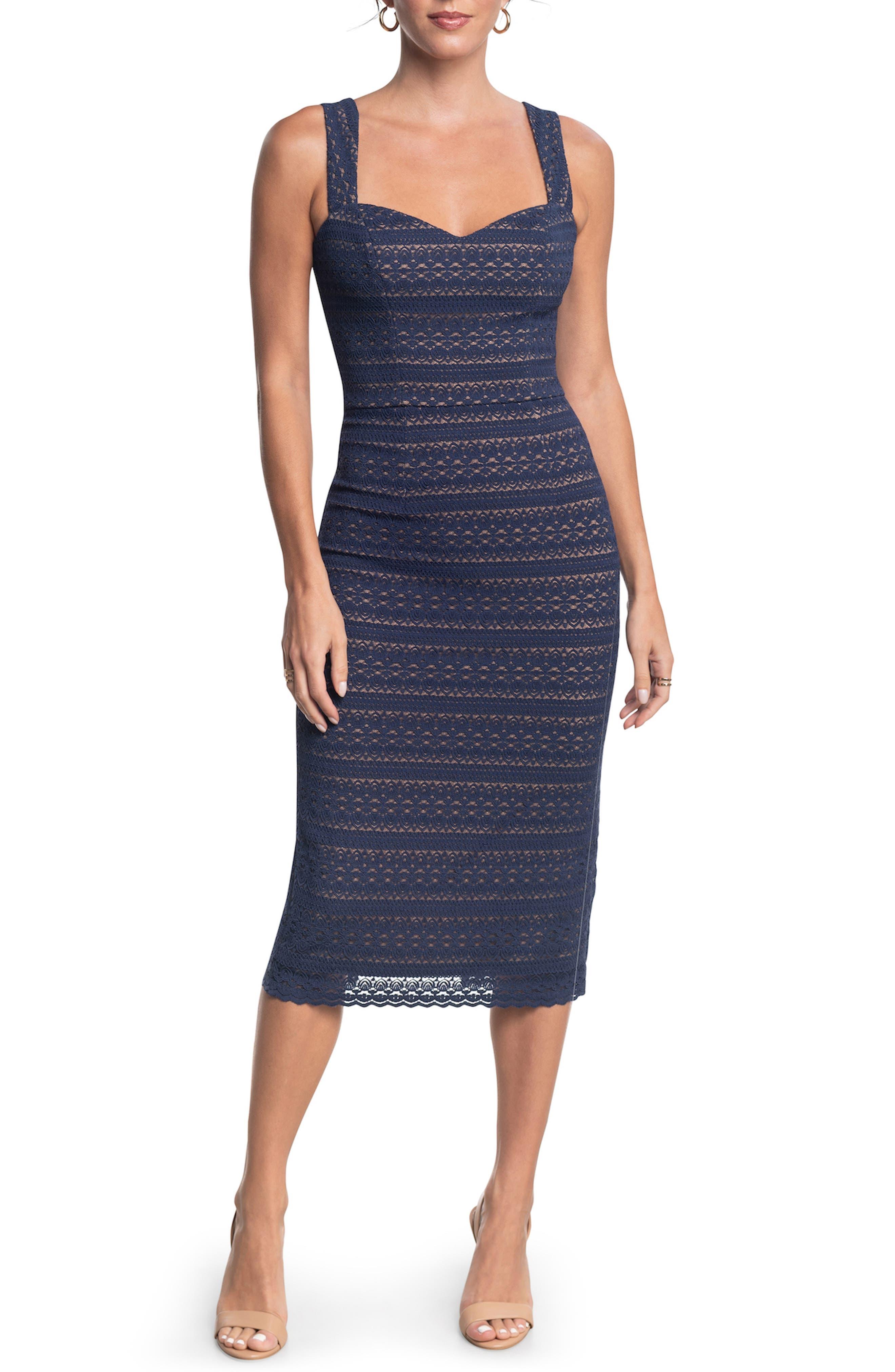 Nicole Lace Sheath Dress