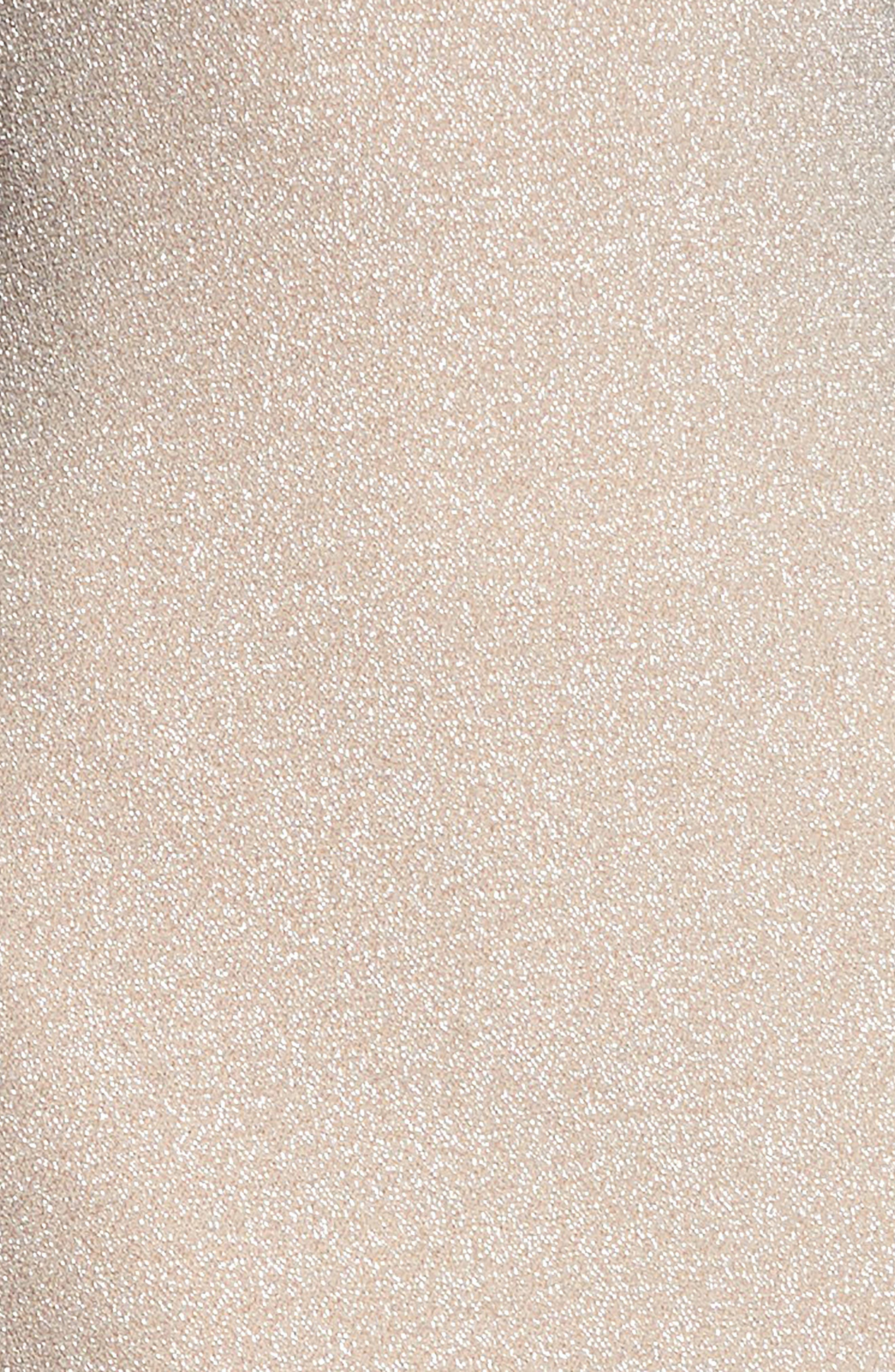 ,                             Riley Plunge Neck Metallic Sheath Dress,                             Alternate thumbnail 8, color,                             040