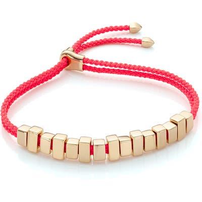 Monica Vinader Linear Ingot Friendship Bracelet