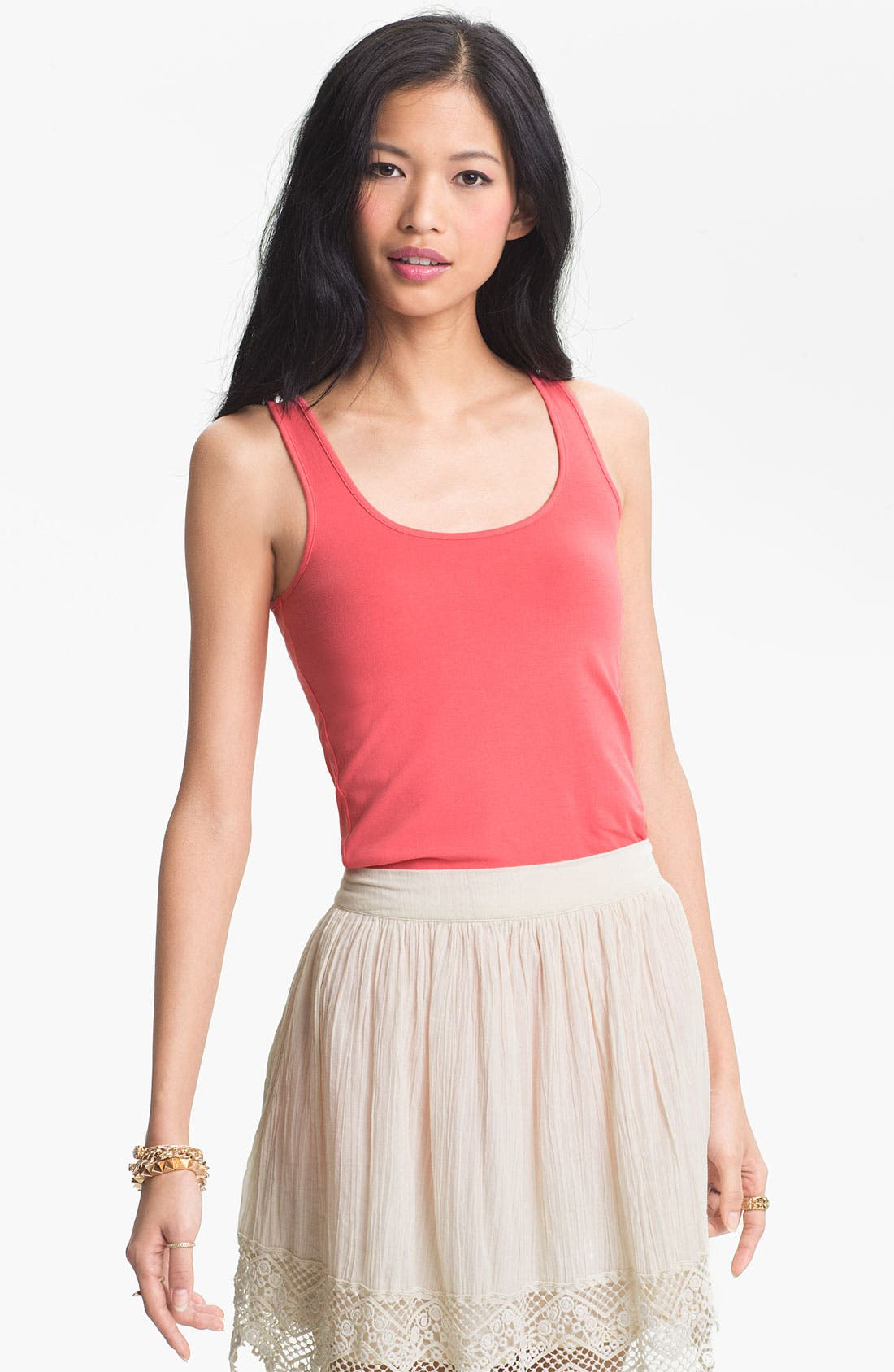 ,                             Double Scoop Neck Tank,                             Main thumbnail 292, color,                             669