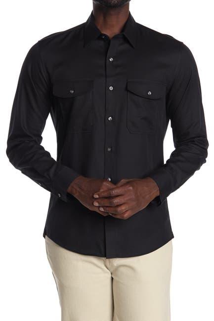 Image of Michael Kors Solid Slim Fit Shirt