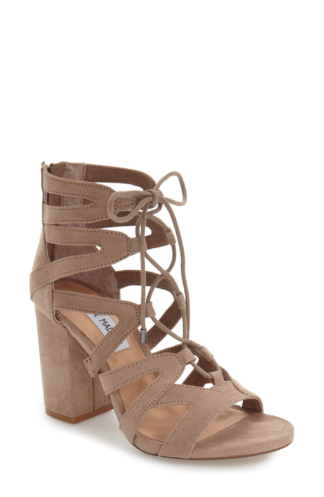 ,                             'Gal' Strappy Lace-Up Sandal,                             Main thumbnail 5, color,                             252