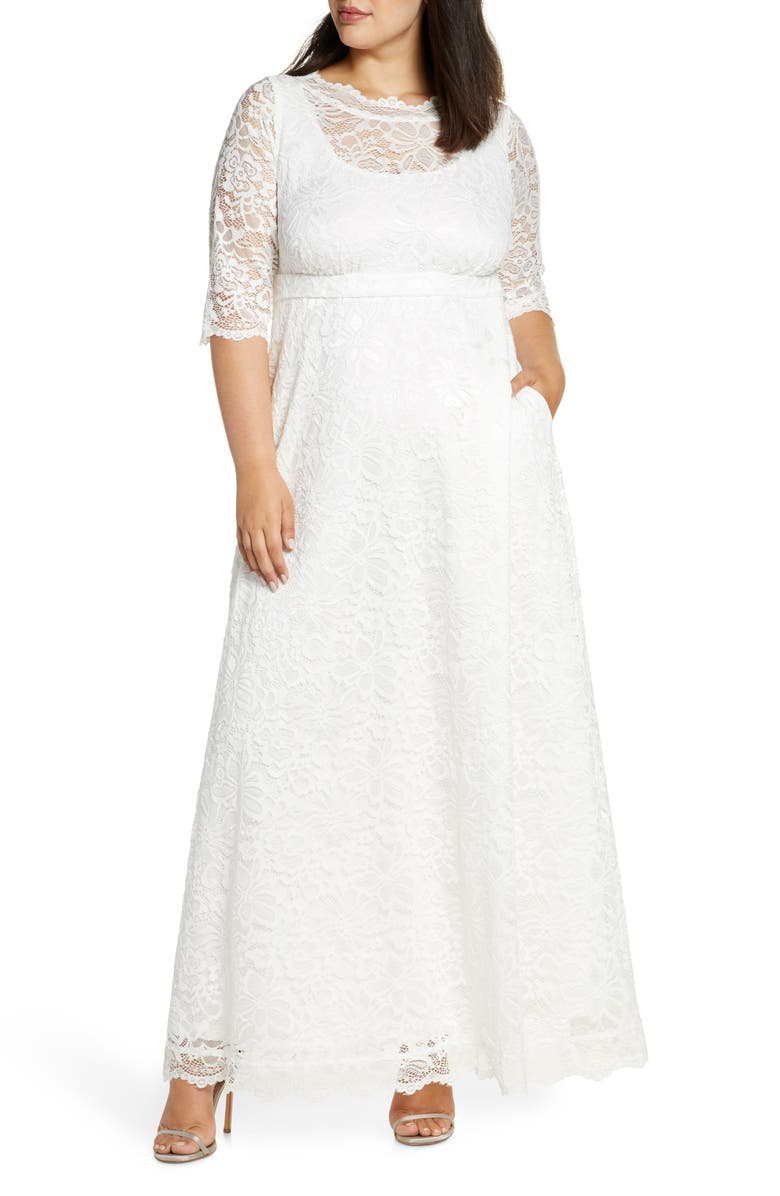 KIYONNA Sweet Serenity Gown, Main, color, IVORY