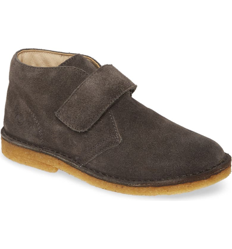 NATURINO Choco Chukka Boot, Main, color, GREY SUEDE LEATHER