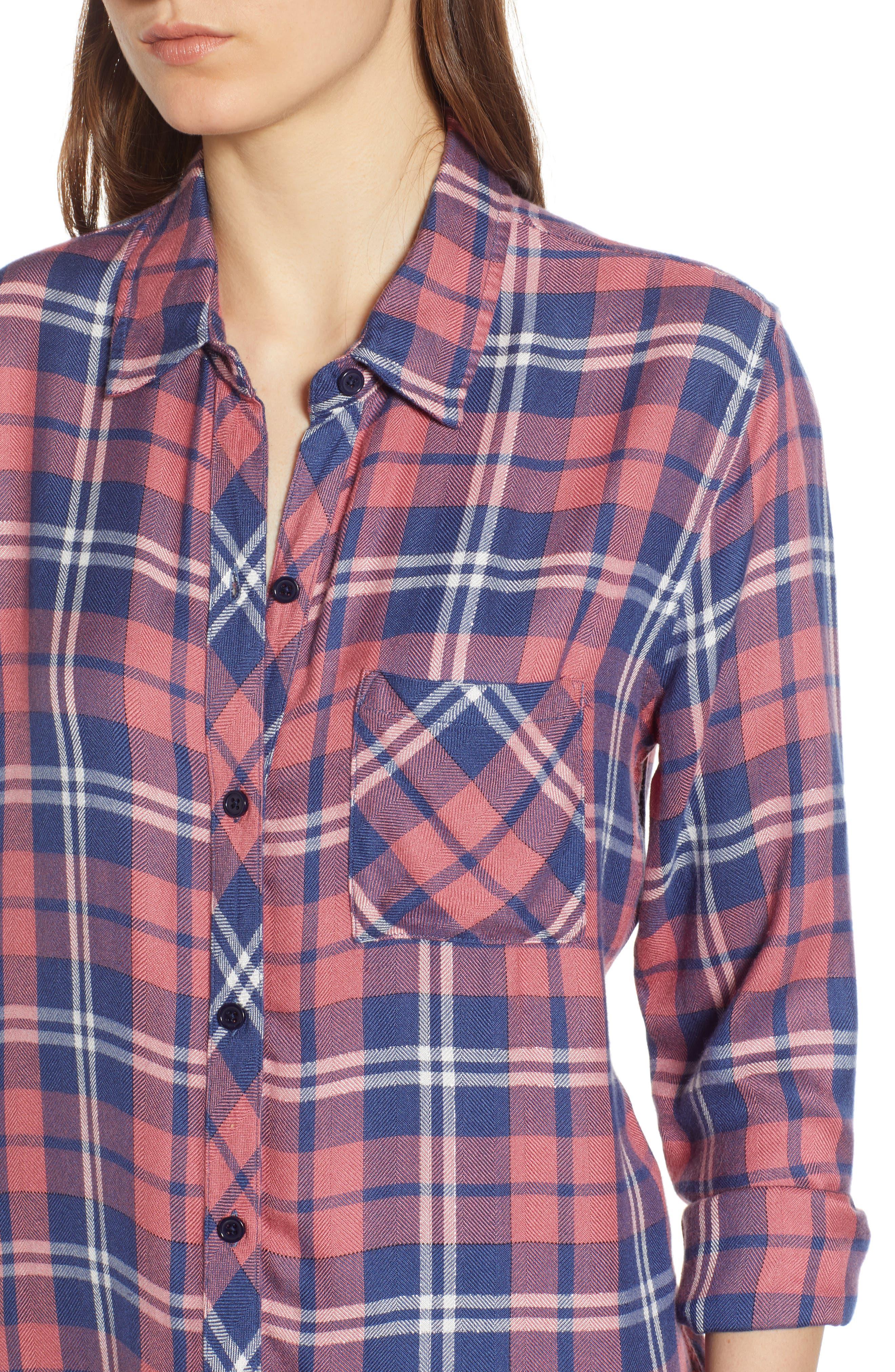 ,                             Hunter Plaid Shirt,                             Alternate thumbnail 426, color,                             603