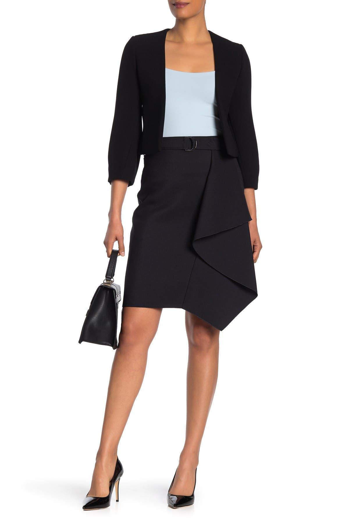 Image of BOSS Mavea Asymmetrical Skirt