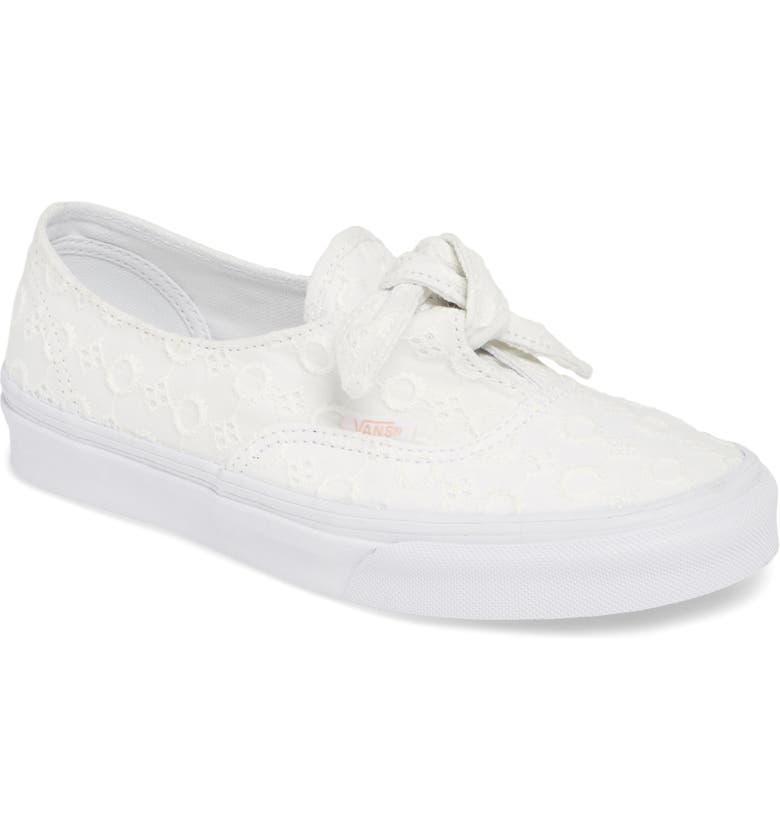 vans authentic knotted