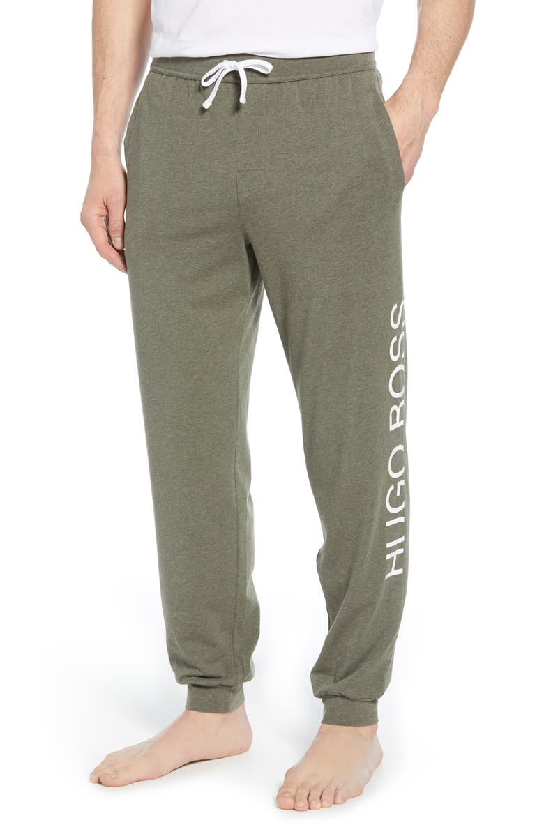 BOSS Identity Jogger Pants, Main, color, GREEN