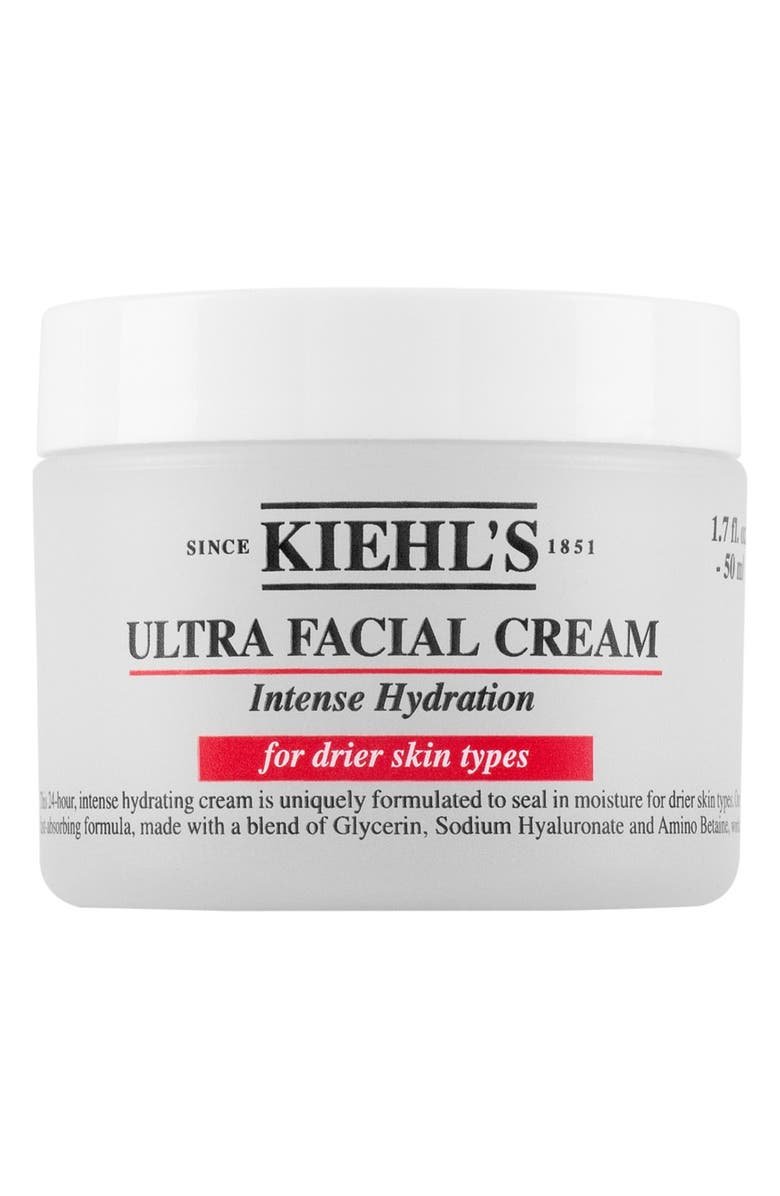 KIEHL'S SINCE 1851 'Ultra Facial' Cream Intense Hydration for Drier Skin Types, Main, color, 000