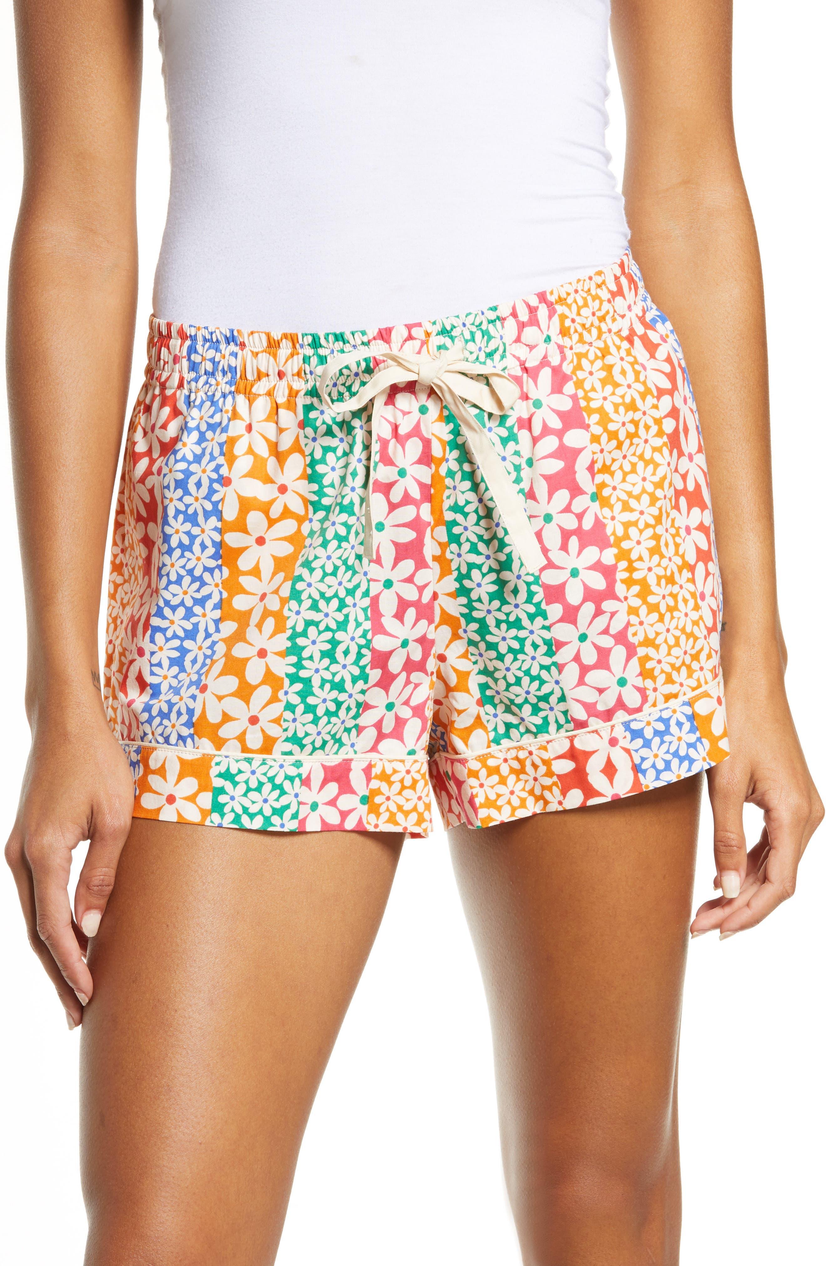 Women's Ban. do Floral Print Leisure Shorts