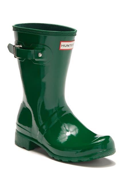 Image of Hunter Original Tour Short Gloss Packable Rain Boot