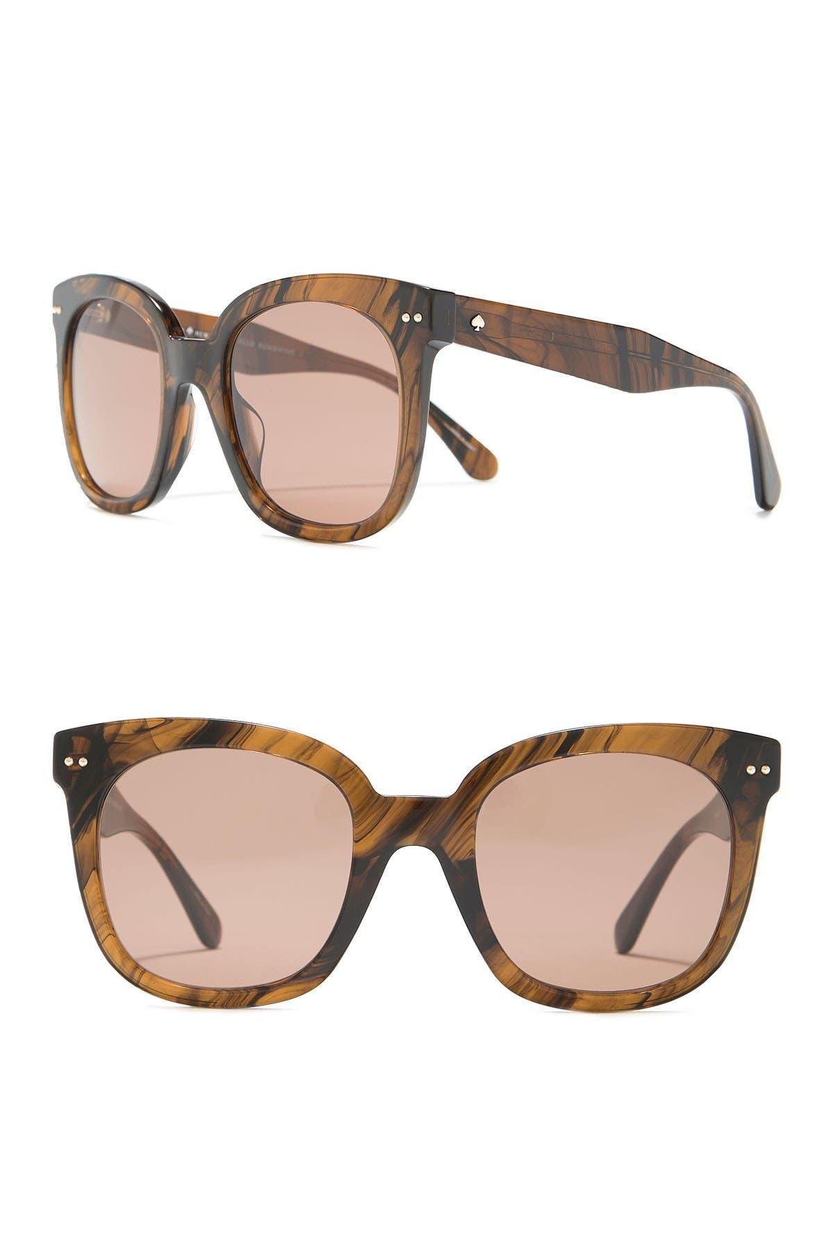 Image of kate spade new york atalia 52mm oversized square sunglasses