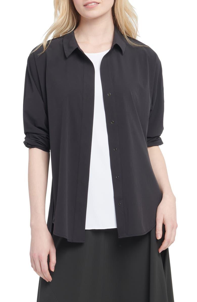 NIC+ZOE Tech Stretch Shirt, Main, color, 004