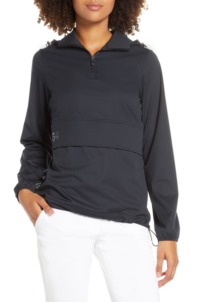 G/FORE Performance Hoodie, Main, color, ONYX