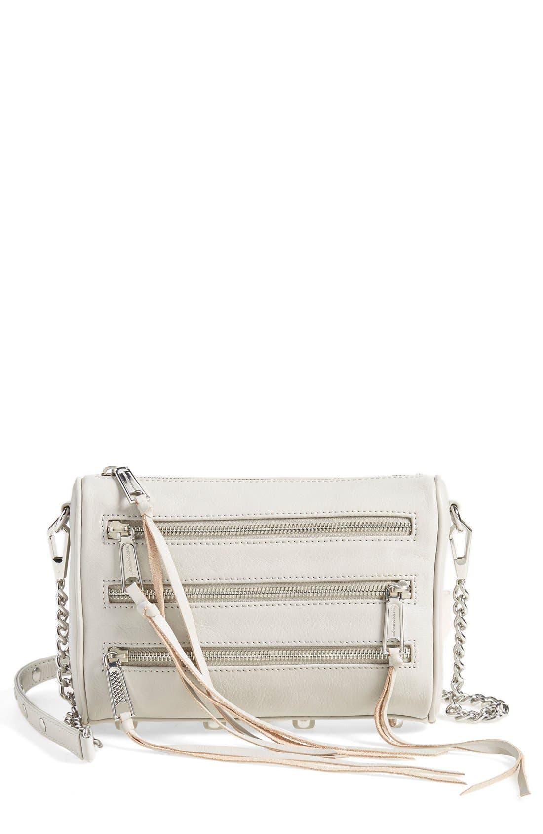 ,                             'Mini 5 Zip' Convertible Crossbody Bag,                             Main thumbnail 7, color,                             020