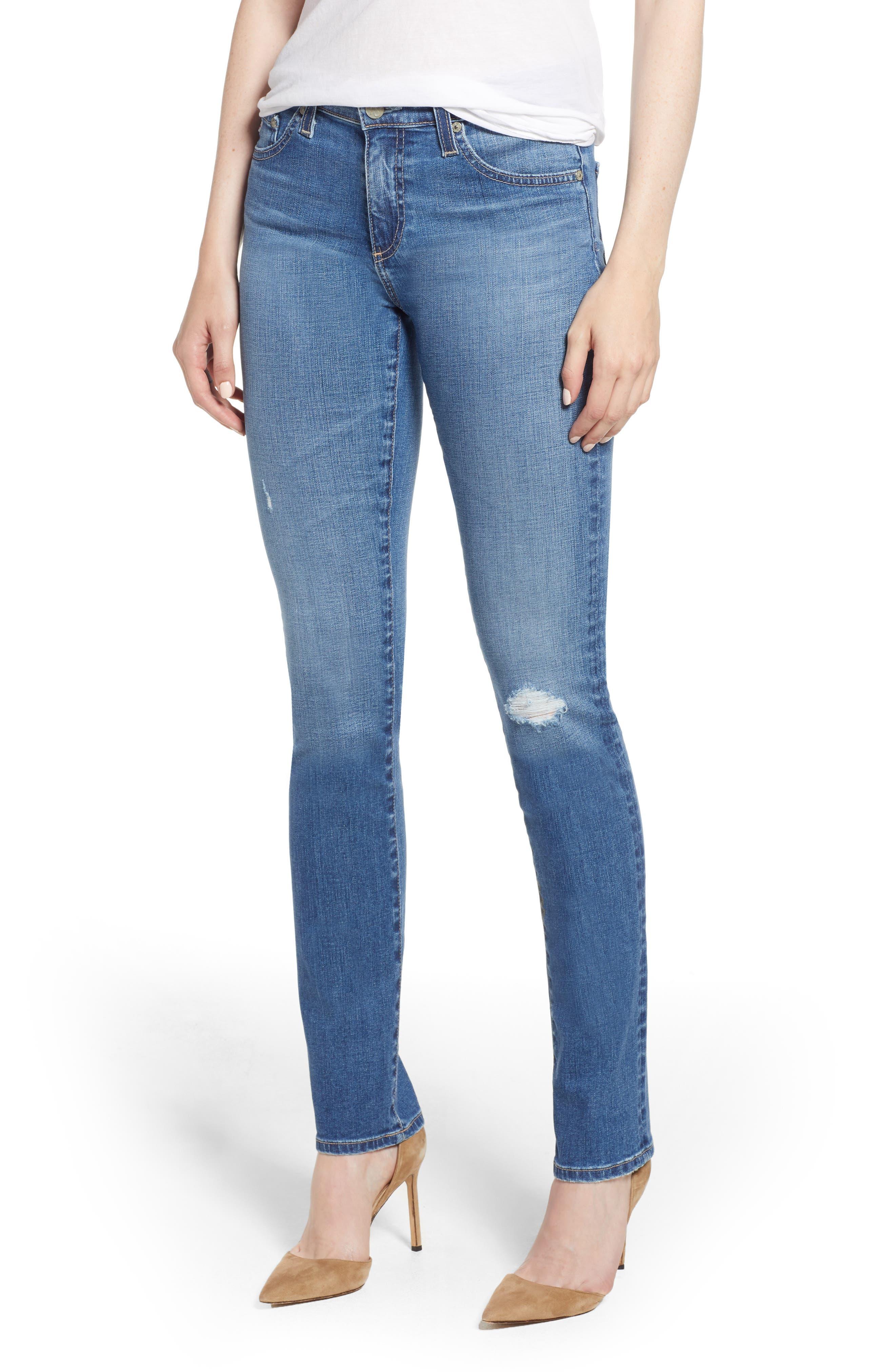 Image of AG Harper Slim Straight Leg Jeans