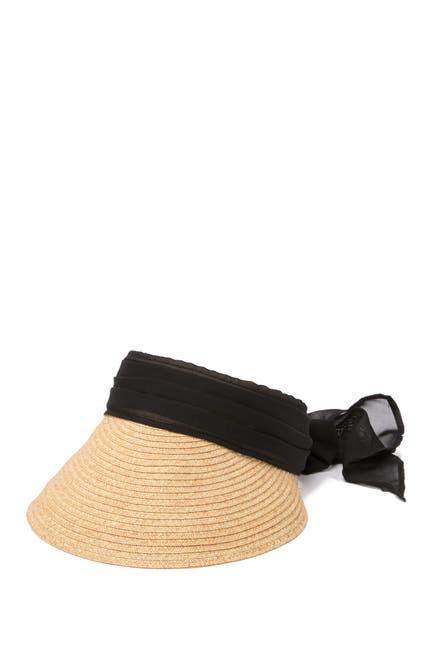 Image of August Hat Chiffon Scarf Visor