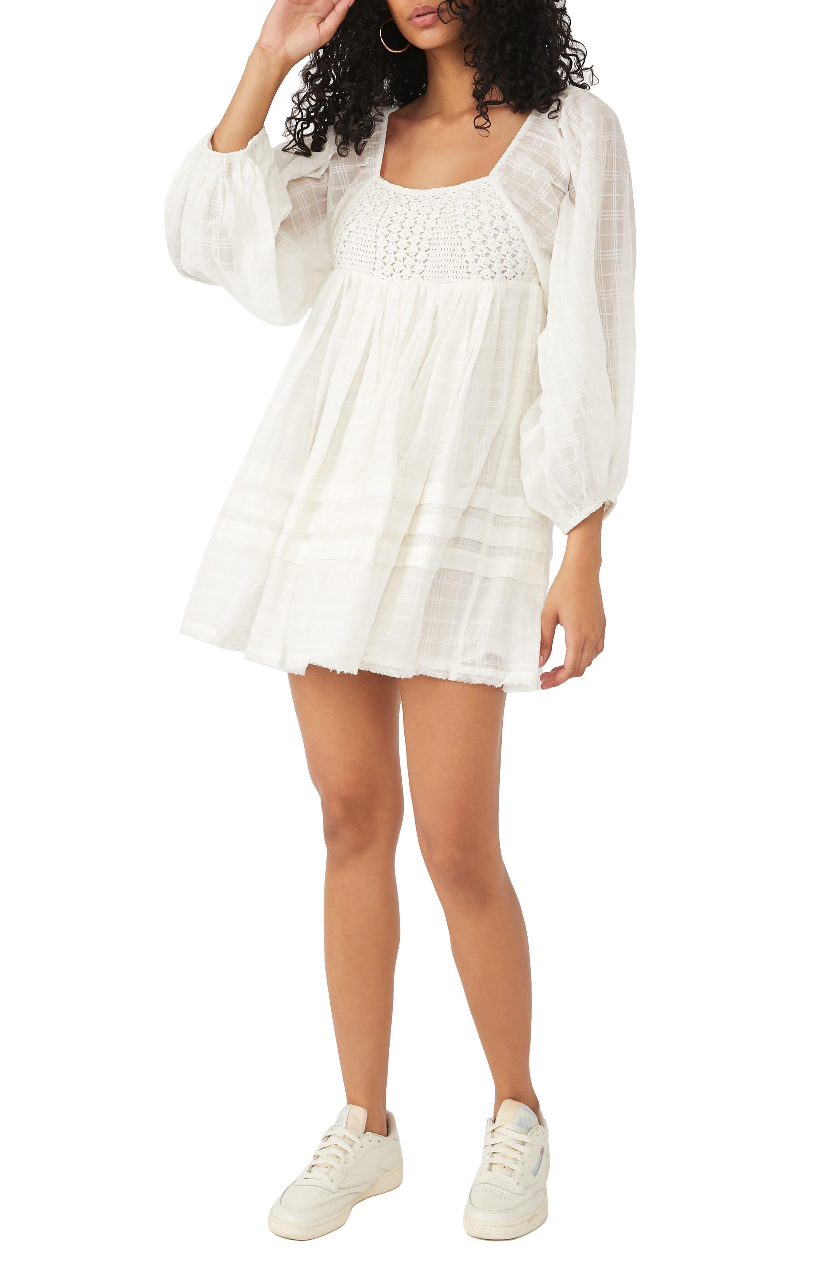 Ari Long Sleeve Minidress