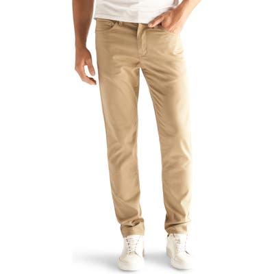 Devil-Dog Dungarees Slim Fit Performance Stretch Jeans, Brown