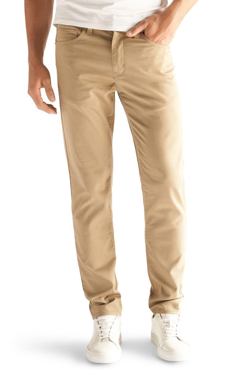 DEVIL-DOG DUNGAREES Slim Fit Performance Stretch Jeans, Main, color, TAN