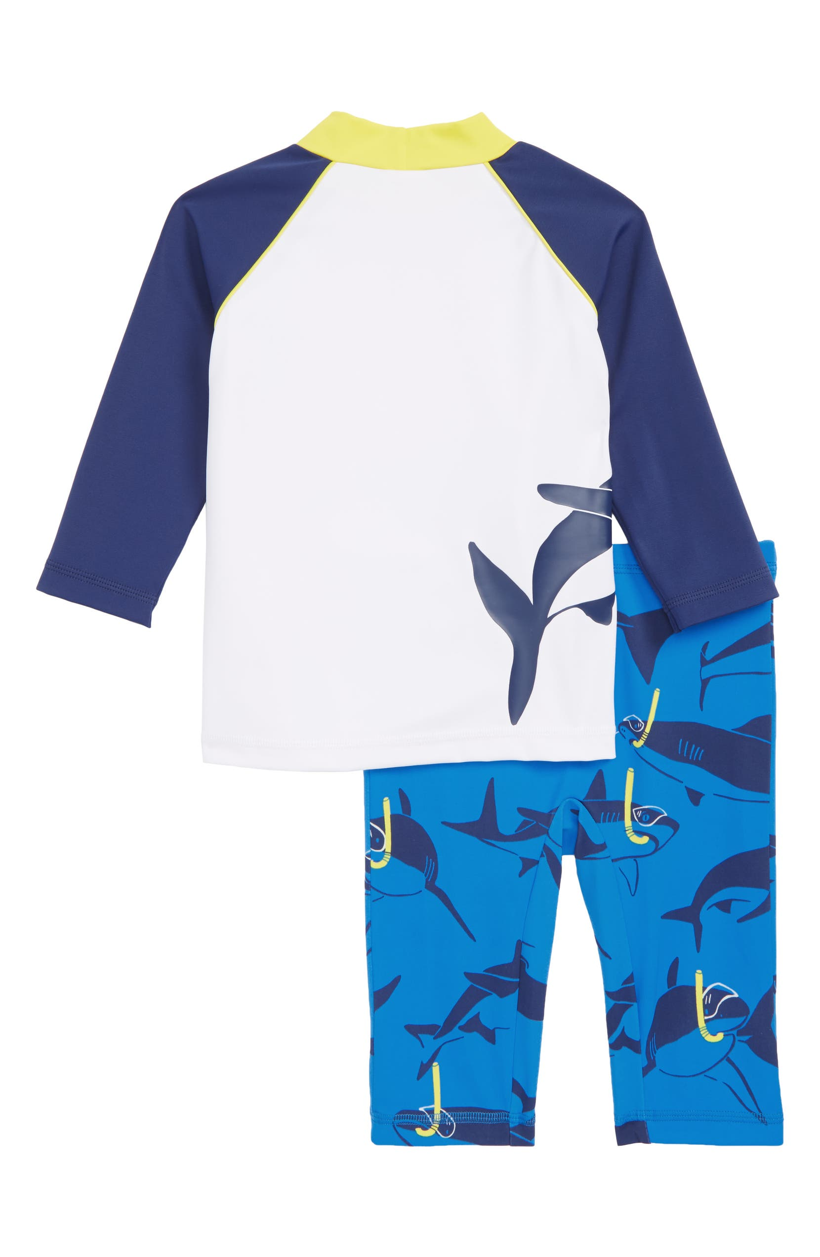 67ba4679a0 Mini Boden Surf Suit Two-Piece Rashguard Swimsuit (Toddler Boys, Little Boys  & Big Boys) | Nordstrom