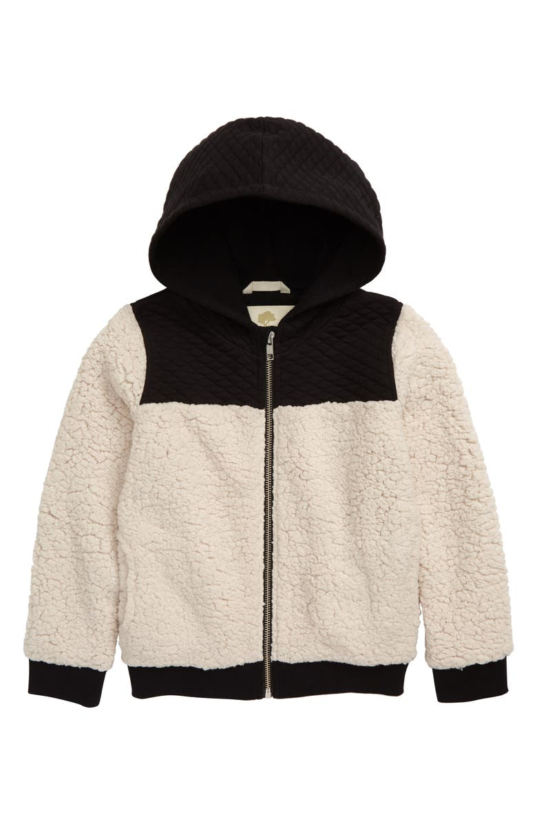 TUCKER + TATE Cuddly Bear Front Zip Hoodie, Main, color, 270