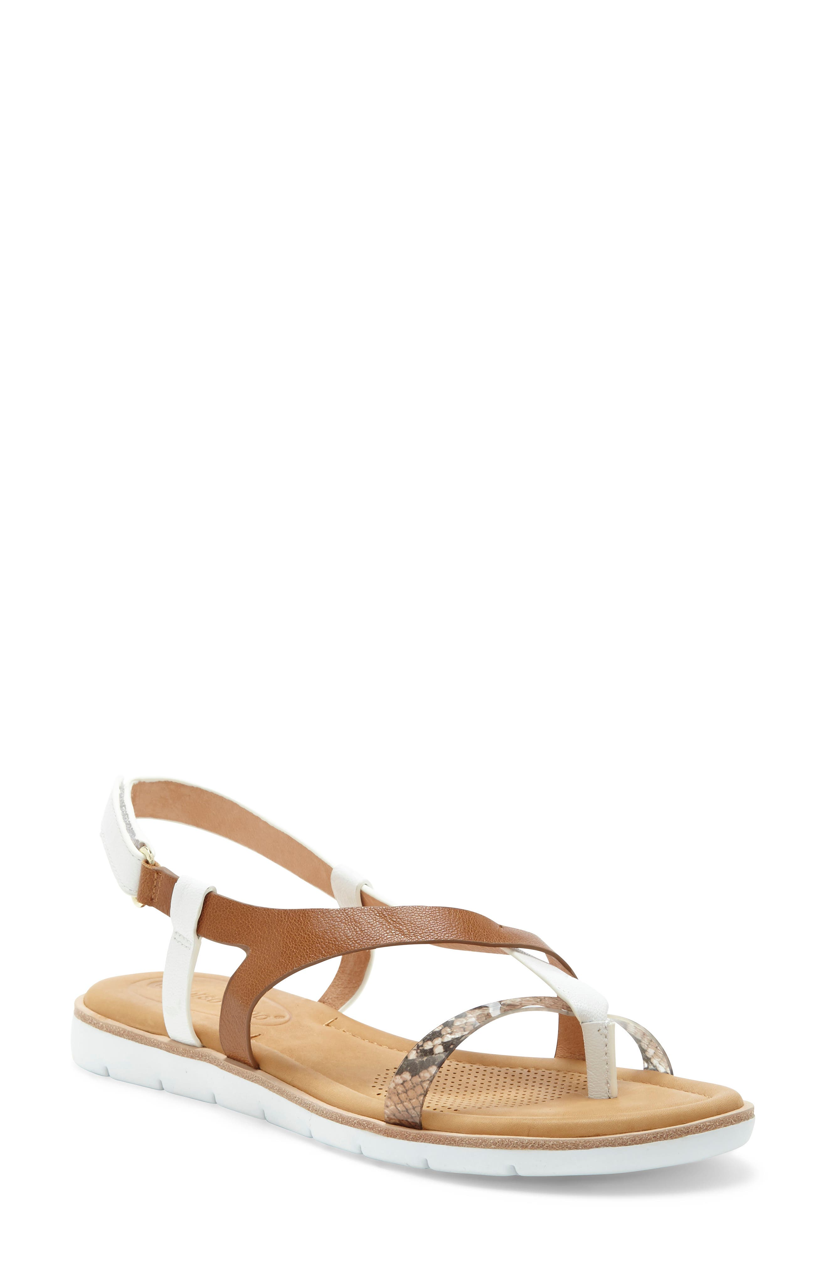Asymmetrical straps securely wrap your foot in this sporty-chic sandal designed with a cushy footbed and airflow technology for all-day comfort and support. Style Name: Cc Corso Como Blessia Sandal (Women). Style Number: 6032418 1. Available in stores.