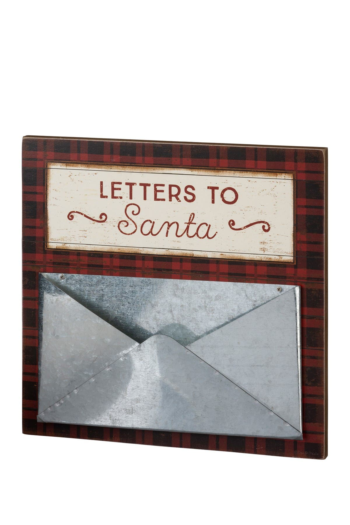 Image of Primitives by Kathy Letters To Santa Slat Sign