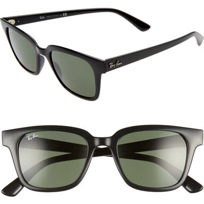 Ray-Ban Wayfarer 51Mm Sunglasses - Black/ Green